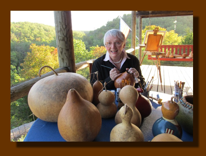 Creative Gourds Our Cabin In The Ozarks